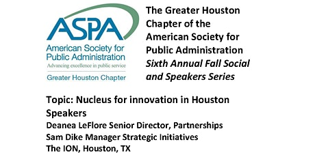Nucleus for innovation in Houston tickets