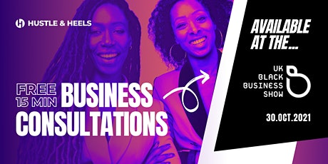 UKBBShow Free Business Consultations tickets