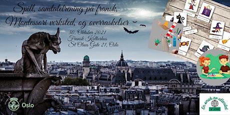 Spill og Montessori workshop på Fransk Kulturhus tickets