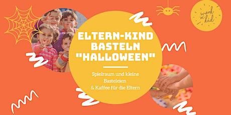 """Eltern-Kind-Basteln """"Halloween"""" & Spielen im Spielzimmer & Kaffee (DE+ENG) Tickets"""