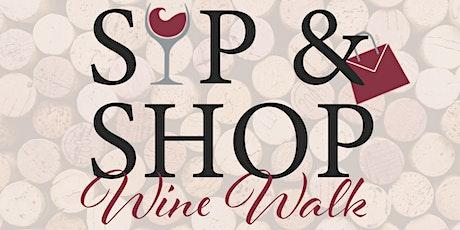 Downtown De Pere  Sip & Shop Wine Walk tickets