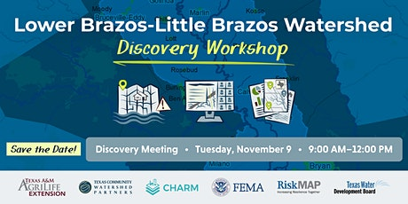 Lower Brazos-Little Brazos Discovery Meeting tickets