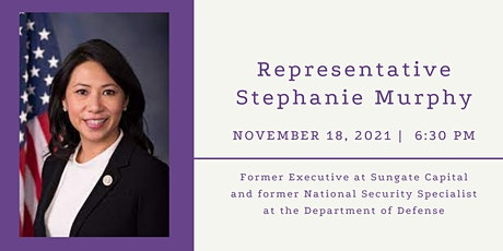 Speaker Series: Representative Stephanie Murphy, FL-07 tickets