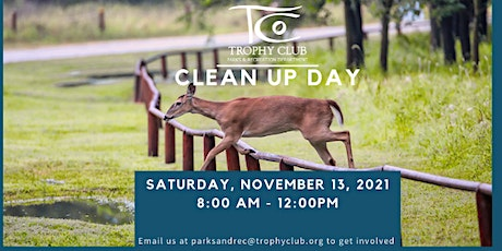 Trophy Club Park Clean Up Day tickets