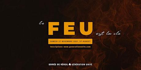 Soirée de Réveil FEU - Samedi 27 Novembre | Génération Unité billets