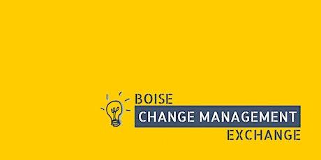 Boise Change Management Exchange November 2021 tickets