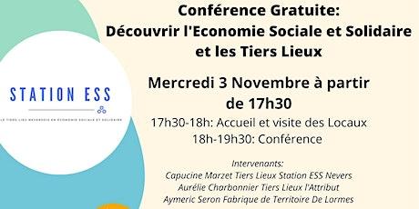 Conférence Découvrir l'Economie Sociale et Solidaire et les Tiers Lieux billets