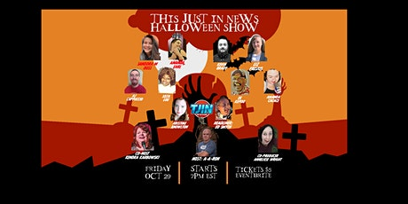 This Just In News Halloween Comedy Club Show tickets