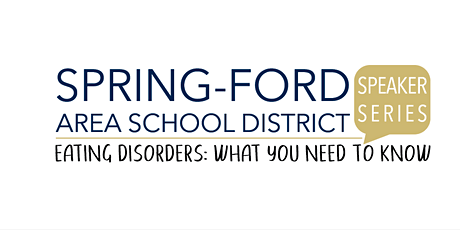Speaker Series: Eating Disorders, What You Need To Know tickets
