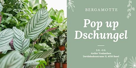 Bergamotte Pop Up Dschungel // Basel Tickets