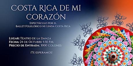 Espectáculo: Costa Rica de mi Corazón entradas