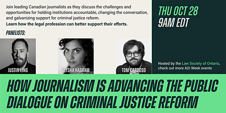 How journalism is advancing the public dialogue on criminal justice reform tickets