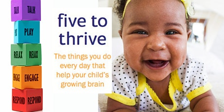 Five to Thrive New Parent Course (4 weeks from  18 Nov 2021) Fleet Library. tickets