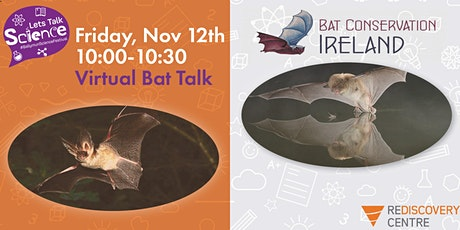 Let's Talk Science 2021 - Let's Talk Bats! tickets