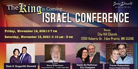 The King is Coming Israel Conference tickets