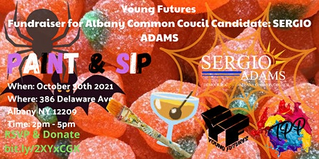 7th Ward Albany Common Council Fundraiser - Paint & Sip tickets