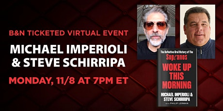 Michael Imperioli and Steve Schirripa discuss WOKE UP THIS MORNING tickets