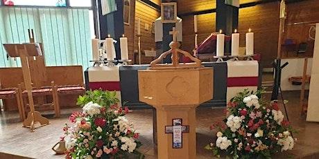 Welcome to celebration of Mass  Saturday 6 Nov and  Sunday 7 Nov 2021 tickets