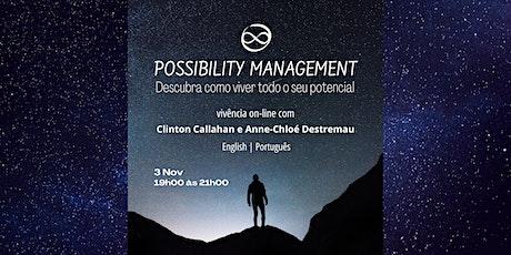 O que é o Possibility Management tickets