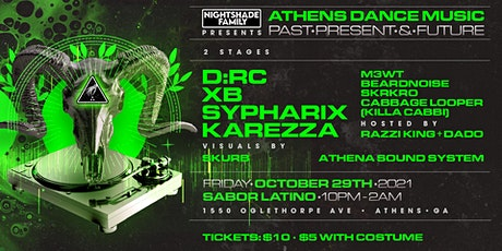 Nightshade Family Presents: Athens Dance Music-Past Present & Future tickets