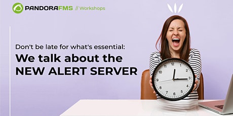 Don't be late for what's essential: We talk about the new alert server tickets