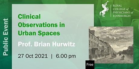 Clinical Observations in Urban Spaces of the Long Nineteenth-Century tickets