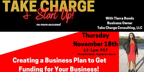 Creating a Business Plan to Get Funding for Your Business tickets