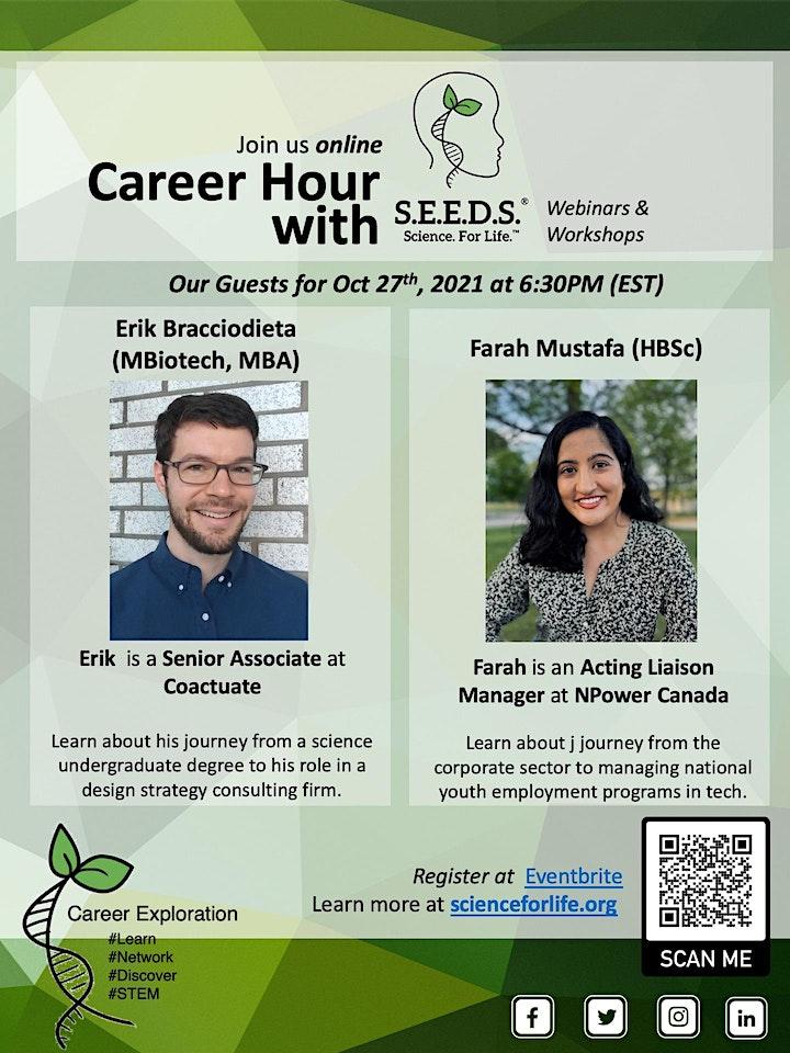Career Hour with S.E.E.D.S. image