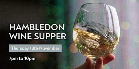 Hambledon Wine Supper tickets