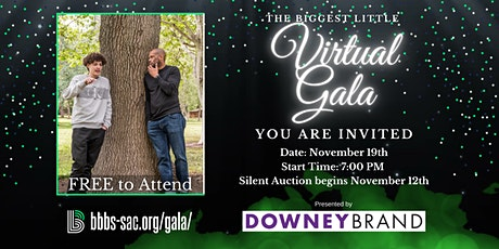 The Biggest Little Virtual Gala billets