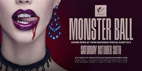 Monster Ball Halloween Party at Ravel Hotel Rooftop / Penthouse tickets