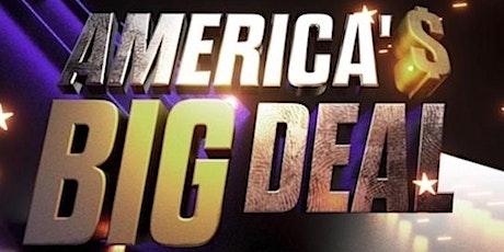 "OCT 28th -7pm -Wiseguyz/ JoAnne Howard fundraiser  ""AMERICA'S BIG DEAL"" tickets"