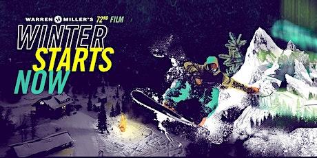 Warren Miller - WINTER STARTS NOW - 2021 - Ski and Snowboard Film - 5:00pm tickets