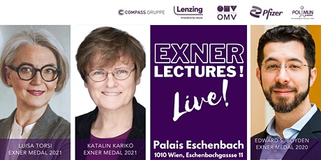 Exner Lectures 2021 Tickets