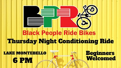 BPRB Weekly Thursday Beginner Rider's Training and Conditioning Group Ride tickets