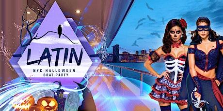 #1 Halloween Latin Reggaetón Haunted Midnight Cruise Yacht Party - iBoatNYC tickets