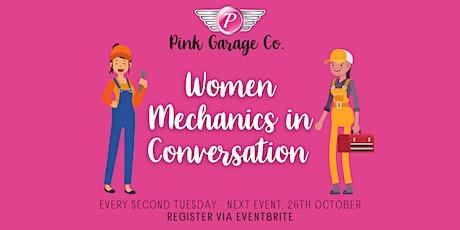 Women Mechanics in Conversation tickets