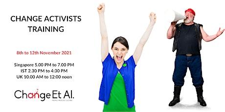 Change Activists Training tickets