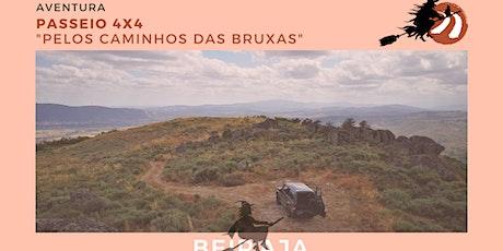 4x4 Tour - Pelos Caminhos das Bruxas bilhetes