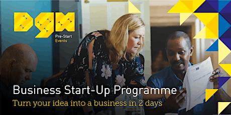Business Start-up Programme - 16th November - Webinar - Dorset Growth Hub tickets