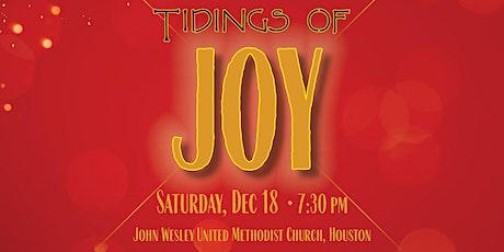 "Texas Master Chorale ""Tidings of Joy"" tickets"