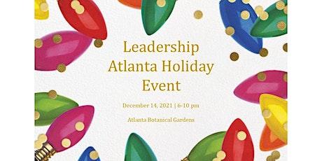 Leadership Atlanta Alumni Holiday Social- Leadership Circle Contributors tickets