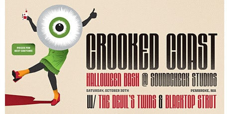 Crooked Coast Halloween Bash w/The Devil's Twins and Blacktop Strut tickets