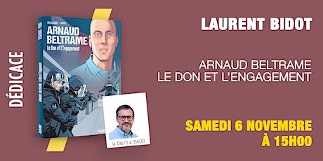 Gibert Dédicace : Laurent Bidot billets