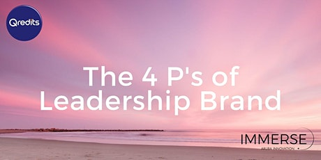 The 4 P's of Leadership Brand tickets