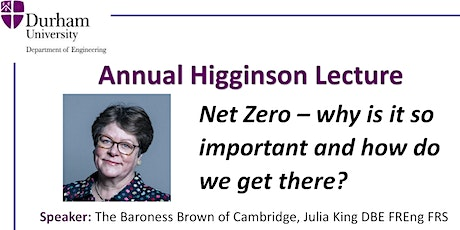 Net Zero - why is it so important and how do we get there? tickets