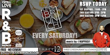I STILL LOVE R & B  BRUNCH  DAY PARTY AT THREE12 tickets