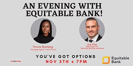 An Evening with Equitable Bank - YOU'VE GOT OPTIONS! tickets