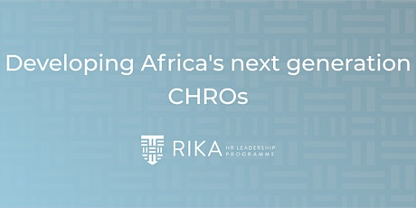 RIKA HR Leadership Program Launch tickets
