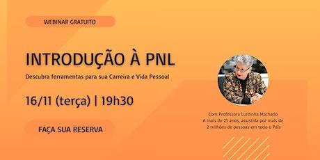 Introdução a PNL - Webinar Gratuito ingressos